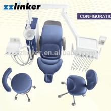 CE approuvé en cuir véritable LED Opération lampe unité dentaire Suntem ST-D570