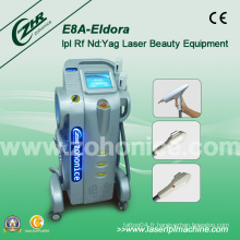 E8a Multifonctionnel Elight IPL RF Laser Hair Removal Equipment
