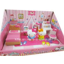 Классический Hello Kitty пластиковые игрушки высокого качества