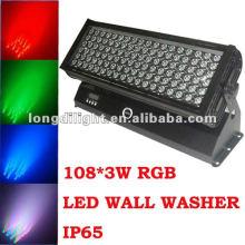 Im Freien 108 * 3w LED-Stablichter, IP65 Farbenwäsche-Stab
