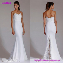 High Quality Sweetheart Sparkling Mermaid Cheap Wedding Dress 2017