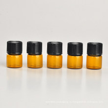 1 мл коричневый стекло бутылка эфирного масла (NGB1141)