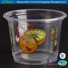Heiße Verkaufs-Plastik-Eiscreme-Schüssel