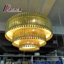 Colgante decorativo de metal / Lámpara colgante para Hotel Project