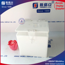 Customized Printed Cheap Yageli Square Donation Boxes