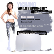 weight loss vibration belt machine vibraction massage electronic slimming belt with CE ROHS FDA FCC
