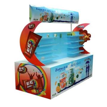 Zwei Seiten Karton Recycled Starke Stand Display