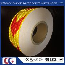 Fita de PVC de seta de material reflexivo