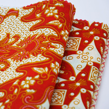 90 Polyester 10 Cotton Plain Printed Fabric
