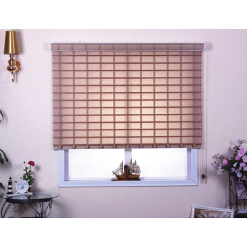 Persianas enrollables con cortinas Light Soft T Shangri-la