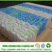Roupa de cama e tecido não tecido de Spunbond do colchão