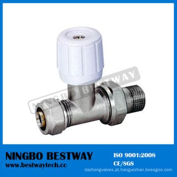 Fabricante de válvula de radiador de latão (BW-R07)