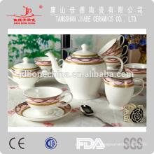 Porcelana de grés japonês chá de café porcelana pote de cerâmica