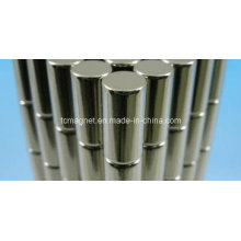Cylinder Rare Earth Magnet with Ni Plating