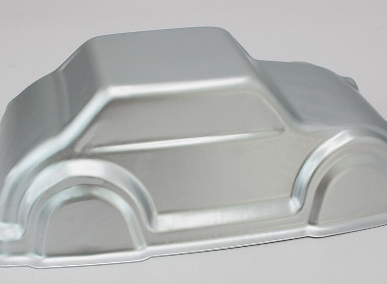 Aluminum Alloy Car Shape Cake Baking Mould (11)