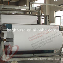 Polyester needle punched nonwoven fabric