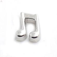 Kostenlose Probe Musik Charme, Silber Anhänger Charme in Musiknote, Musiknote Charme Schmuck