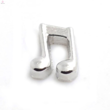 Free sample music charms,silver pendant charm in musical note,music note charms jewelry
