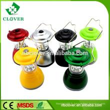 Main à l'aide de 6 led ABS ABS mini lanterne pour camping