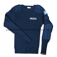 Hochwertige Polizei Sicherheit Woll Pullover