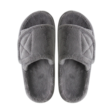Adjustable Arch Support Open Toe Memory Foam Slippers