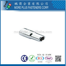 """Made In Taiwan 1/4"""" SQ DRIVE SOCKETS FOR SAE SHEET METAL SCREWS WITHOUT MAGNETIC"""