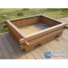 Wood Plastic Composite Decking, Plastic Lumber, WPC Decking