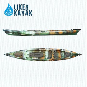 Plastic No Inflatable Angler Barcos à Venda Fish Liker Kayak