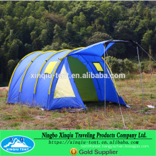 5-6 person tunnel design oudoor family camping tent