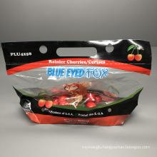 Good Printing Fresh Keeping Packaging Bag Plastic Bag for Fruit Vegetable with Handle