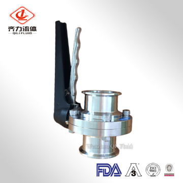 Sanitary Clamped Butterfly Valve