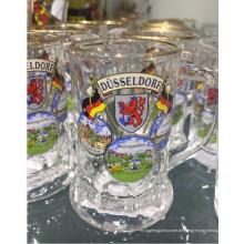 Glas Tasse Glaswaren Maschine gepresste Bier Glas Tasse Kb-Hn07827