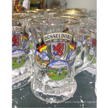 Glass Cup Glassware Machine Pressed Beer Glass Cup Kb-Hn07827
