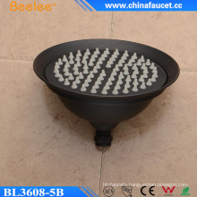 Beelee Hotel Use Round Oil Rubbed Bronze Ceiling Mounted Shower