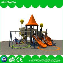 Bester Preis Kinder-Unterhaltungs-Ausrüstung kleiner Spielplatz im Freien mit Schwingen