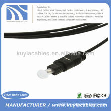 10 pés de fibra óptica digital cabo de áudio Toslink 3M