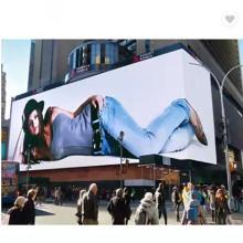Outdoor Waterproof Advertising Fabric Light Box Aluminum Snap Frame Poster Frames Big Project Backlit Light Box