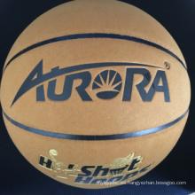 Imitación cuero de vaca laminado de baloncesto