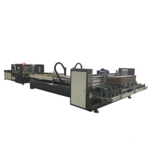 New style automatic counting folder gluer carton gluing machine