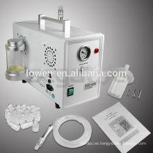 máquina de microdermabrasión de cristal de rejuvenecimiento de piel de alta calidad