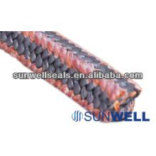 Упаковка PTFE с угловыми волокнами Kynol