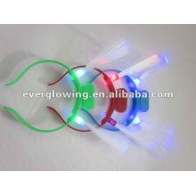 lumières de cheveux de fibre optique