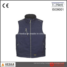 Mens Cargo Work Quilted Waistcoats
