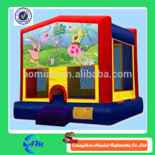 2014 new cartoon hig quality PVC inflatable bouncer