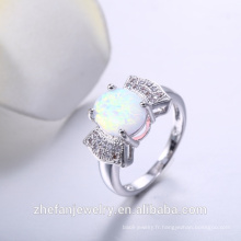 Bague 925 argent sterling zircone mariage engagement