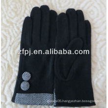 Sheep wool upscale leather gloves made in China