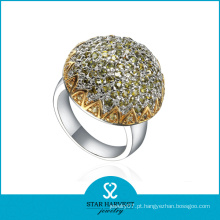 Beautifull Cluster anel feito de prata (SH-R0321)