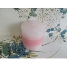 Bougie pilier en couches parfumée idéale