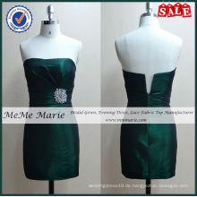 Satin Tight Strass Emerald Green Prom Kleider BYE-14009