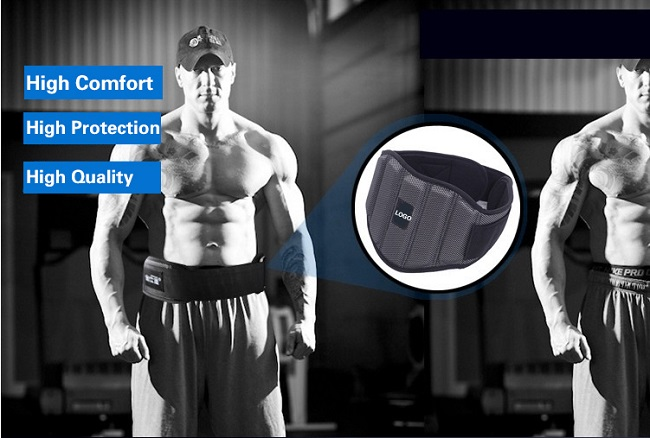 Adjustable Lower Back Support Weight Lifting Belt